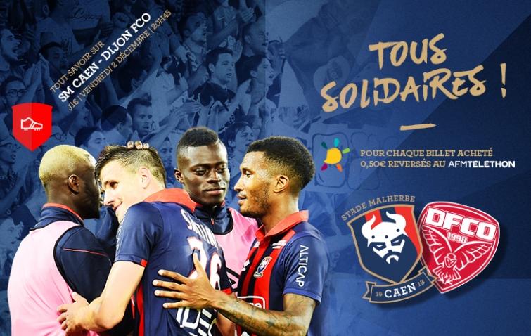 [16e journée de L1] SM Caen 3-3 Dijon FCO 16_smcdfco