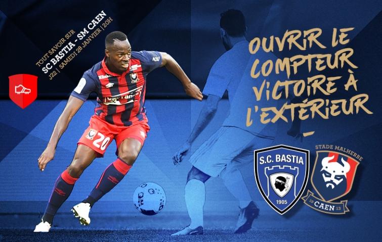 [22e journée de L1] SC Bastia 1-1 SM Caen  22_scbsmc