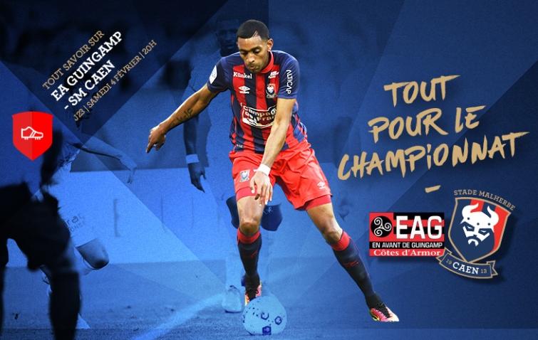 [23e journée de L1] EA Guingamp 0-1 SM Caen  23_eagsmc