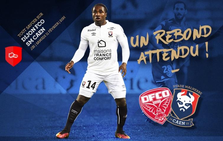 [25e journée de L1] Dijon FCO 2-0 SM Caen  25_dfcosmc