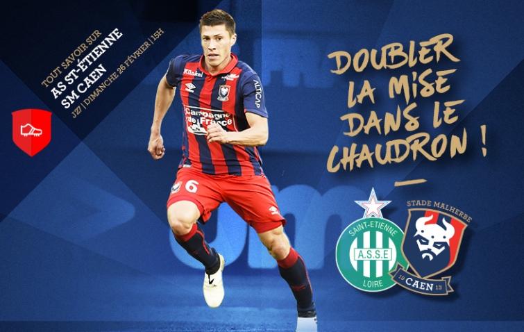 [27e journée de L1] AS Saint Etienne 0-1 SM Caen 27_assesmc
