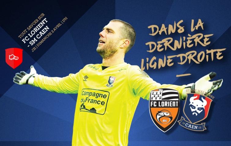 [31e journée de L1] FC Lorient 1-0 SM Caen 31_fclsmc