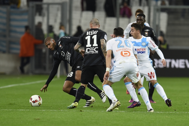 [35e journée de L1] SM Caen 1-5 O Marseille Adeoti_bessat_thauvin_2