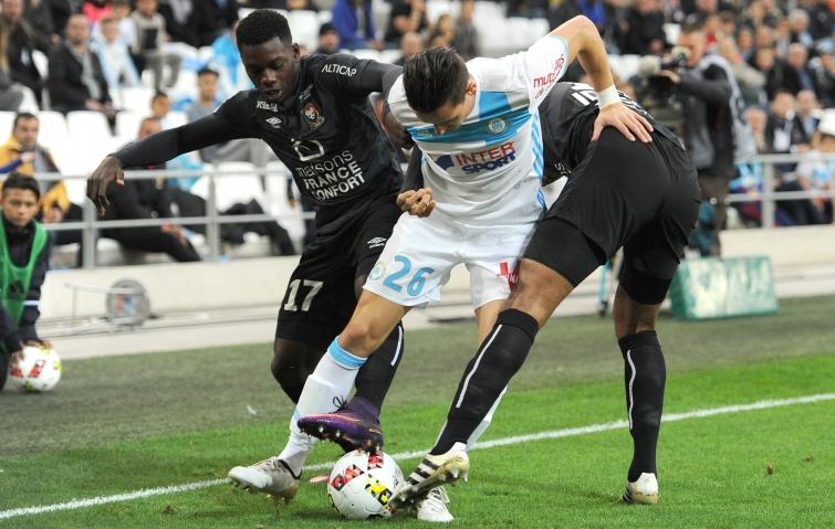 [35e journée de L1] SM Caen 1-5 O Marseille Adeoti_thauvin_makengo