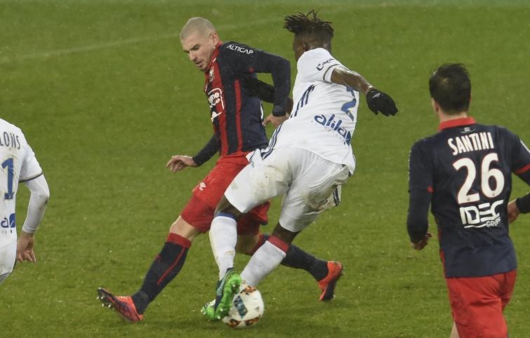 [17e journée de L1] FC Nantes 1-0 SM Caen  Bessat_yanga_mbiwa