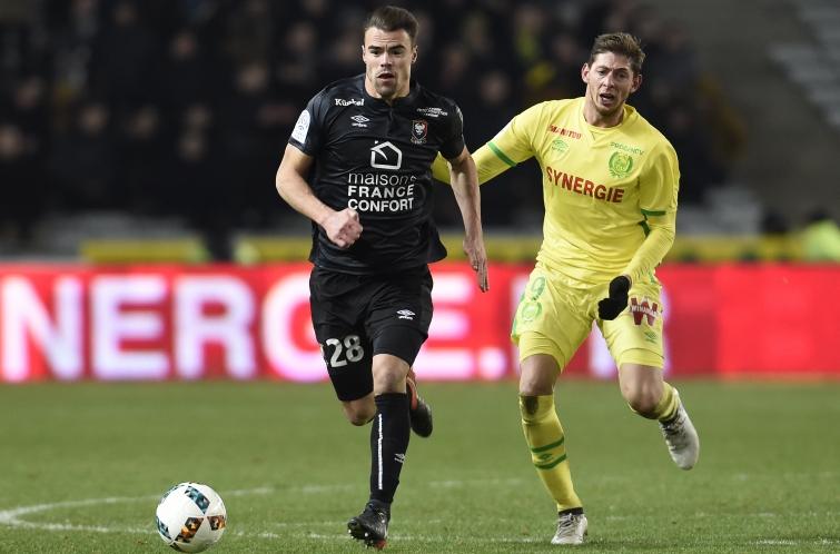 [34e journée de L1] SM Caen 0-2 FC Nantes Da_silva_sala_1