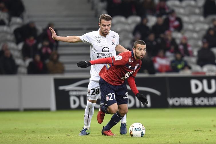 [26e journée de L1] SM Caen 0-1 Lille OSC Da_silva_sliti_1