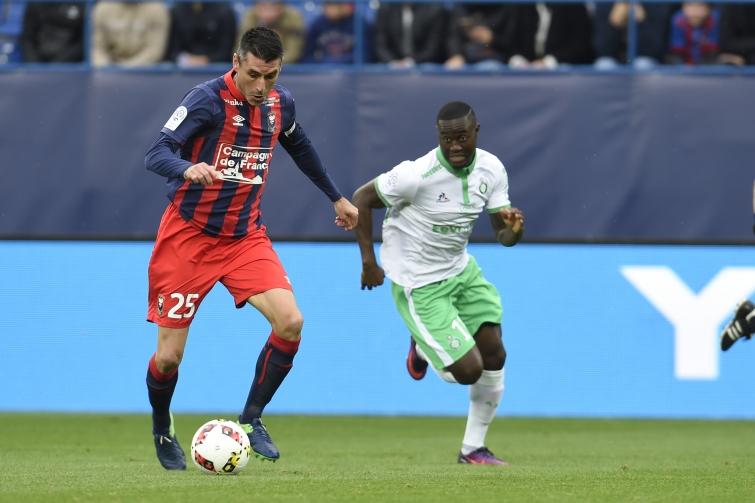 [27e journée de L1] AS Saint Etienne 0-1 SM Caen Feret_saivet