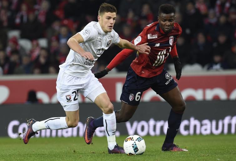 [16e journée de L1] SM Caen 3-3 Dijon FCO Guilbert_amadou_3
