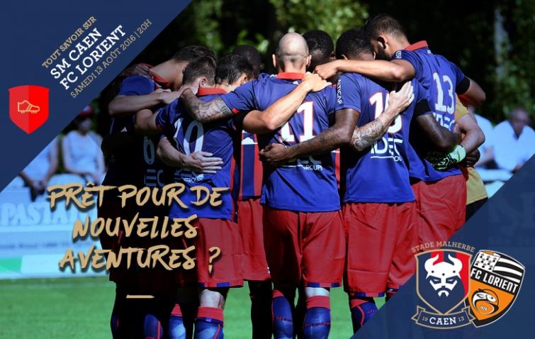 [1e journée de L1] SM Caen 3-2 FC Lorient Lorient-v2