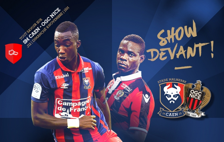 [12e journée de L1] SM Caen 1-0 OGC Nice Smc_16-17_12_smcogcn