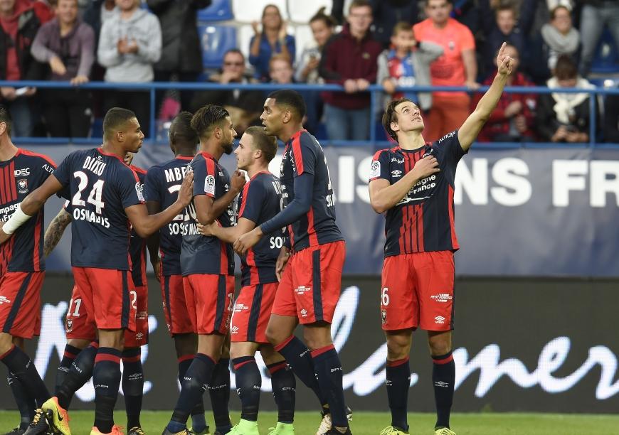 SM Caen - Dijon 2-1