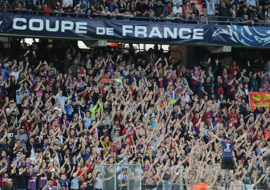 SM Caen - Paris SG 1-3