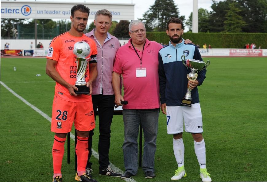 Trophée des Normands UJSF SM Caen - Le Havre 1-1, 4-3 tab
