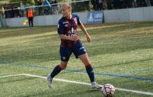 Mélissa Renard a inscrit son douzième but en cinq matchs officiels cette saison sur la pelouse de Thiberville