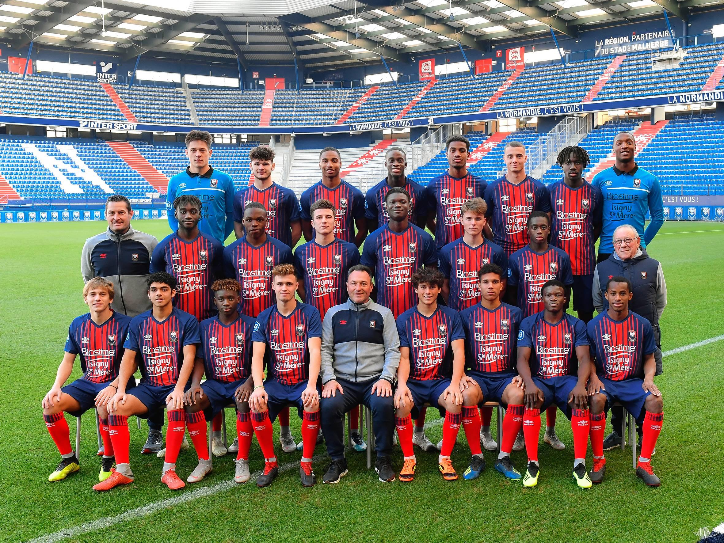 Stade Malherbe Caen Calvados Basse-Normandie - équipe Réserve 2018-2019