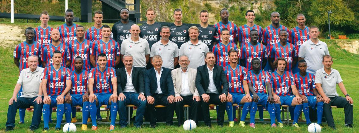Stade Malherbe Caen Calvados Basse-Normandie - équipe Première 2014-2015