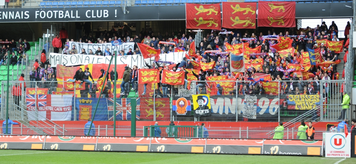 [4e journée de L1] Stade Rennais 2-0 SM Caen  Supporters_caen